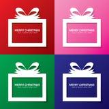 Merry Christmas present Stock Photography