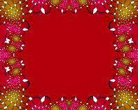 Merry Christmas. A red holiday colored abstract background Stock Image