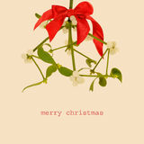 Merry christmas, with a retro effect Stock Images