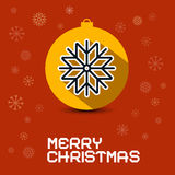 Merry Christmas Retro Vector Card Stock Images