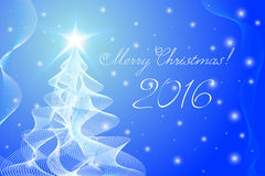 Merry Christmas rosette background. Royalty Free Stock Photo