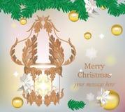 Merry Christmas Royal decor Royalty Free Stock Photo