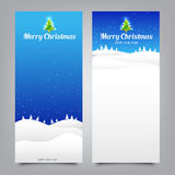 Merry Christmas santa banner collection for greeting card Royalty Free Stock Photo