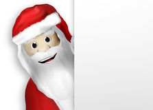 Merry Christmas Santa Claus Stock Image