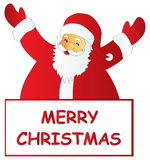 Merry Christmas Santa Royalty Free Stock Images