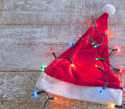 Merry christmas santa hat Royalty Free Stock Images