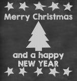 Merry Christmas school background royalty free illustration