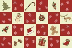 Merry christmas seamless background Stock Photos