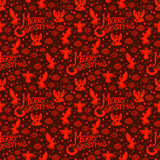 Merry Christmas  seamless pattern Royalty Free Stock Image