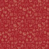 Merry xmas seamless pattern background Royalty Free Stock Photography