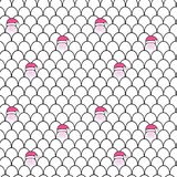 Merry Christmas seamless pattern. Christmas background. Merry Christmas seamless pattern with Santa Claus. Holiday pattern. Christmas background Royalty Free Stock Photos