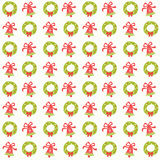 Merry christmas seamless pattern background. Christmas seamless pattern background,season greeting,happy holidays,vector background Royalty Free Stock Image