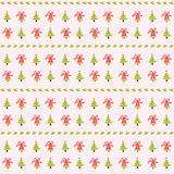 Merry christmas seamless pattern background. Christmas seamless pattern background,season greeting,happy holidays,vector background Stock Image