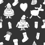 Merry Christmas. Seamless pattern. Royalty Free Stock Photos