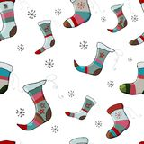 Merry christmas seamless pattern vector vector illustration