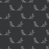 Merry Christmas seamless pattern. Vector print Stock Photo