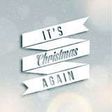 Merry Christmas Season Greetings Quote Royalty Free Stock Images