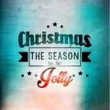 Merry Christmas Season Greetings Vector Design Royalty Free Stock Image