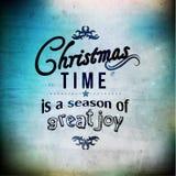 Merry Christmas Season Greetings Vector Design Stock Photo