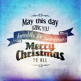 Merry Christmas Season Greetings Vector Design Stock Photos