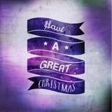 Merry Christmas Season Greetings Vector Design Royalty Free Stock Photography