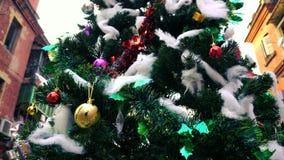 Merry christmas, Kolkata - West Bengal, India stock footage