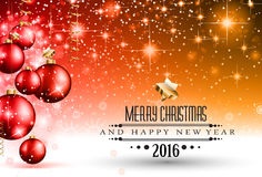 Merry Christmas Seasonal Background for your greeting cards, Royalty Free Stock Photos
