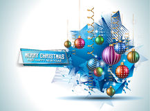 Merry Christmas Seasonal Background for your greeting cards Stock Photo