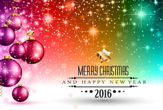 Merry Christmas Seasonal Background for your greeting cards Stock Images
