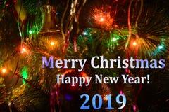 Merry christmas seasons greetings stock image