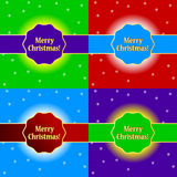Merry Christmas set Royalty Free Stock Photos