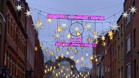 Merry Christmas at Seven Dials London - LONDON, ENGLAND - DECEMBER 10, 2019