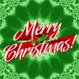 Merry Christmas Sign Stock Photography