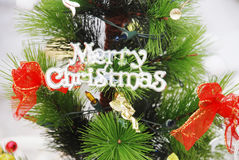 Merry christmas sign Royalty Free Stock Images