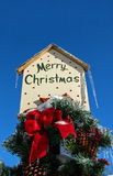 Merry Christmas sign Stock Photos