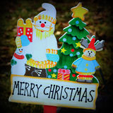 Merry Christmas Sign Royalty Free Stock Photos