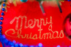 Merry Christmas sign, logo Royalty Free Stock Photos