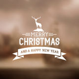 Merry Christmas Sign Royalty Free Stock Photography