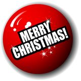 Merry Christmas Special 3-D Sphere Vector Stock Photo