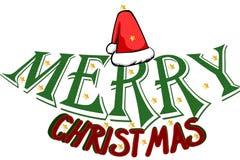 Merry Christmas splash card Royalty Free Stock Photography