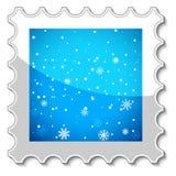 Merry Christmas stamp Stock Photos
