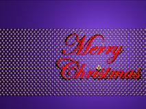 Merry christmas on stars stock images