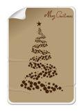 Merry Christmas sticker Stock Image