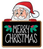 Merry Christmas subject image 3. Eps10 vector illustration Stock Image