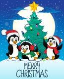 Merry Christmas subject image 8. Eps10 vector illustration Royalty Free Stock Photo