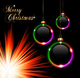 Merry Christmas Suggestive Background Stock Images