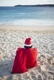 Merry christmas in summer from tropical climate. Australia Ocenia zone Stock Images