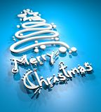 Merry Christmas symbol Royalty Free Stock Photo