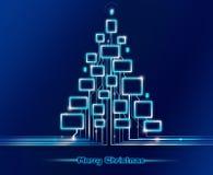 Merry Christmas techno Royalty Free Stock Photography