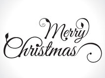 Merry christmas text background Royalty Free Stock Photo